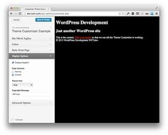 A Guide to the WordPress Theme Customizer: Review and Resources. #wordpress