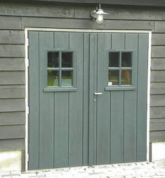 Marvelous garage door carriage - have a look at our short article for even more tips! Carriage Garage Doors, Wood Garage Doors, Garage Shed, Shed Doors, Barn Doors, Garage Door Styles, Firewood Shed, Amsterdam Houses, Garage Studio
