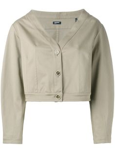 JIL SANDER Cropped Jacket. #jilsander #cloth #jacket