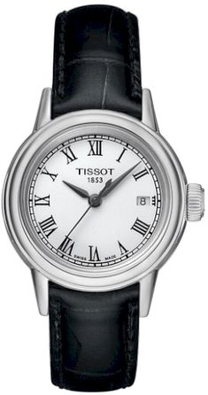 3595e336d6f6 Women s Tissot Carson Leather Strap Watch