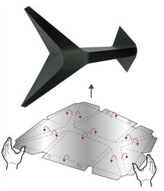 gilbert13: fold shelf (via designboom.com)