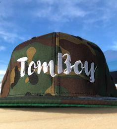 5c840264db5 TomBoy Camo Flat Snapback Hat