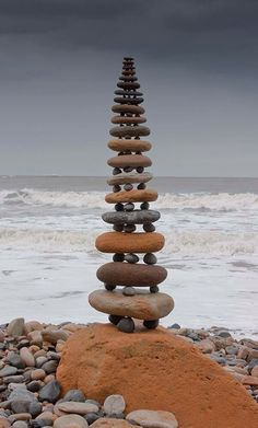 Jedi Stair-Step Rock Stacking