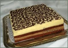 Romanian Desserts, Romanian Food, Sweets Recipes, Cake Recipes, French Pastries, Sweet Cakes, Something Sweet, Bakery, Sweet Treats