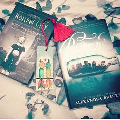 We are soooo happy ti see our Valentine bookmark between the Pages of these two awesome books  http://ift.tt/1mo2LKz  #etsy #read #books #bookworm #hollowcity #passenger #costumer #estyseller #instabooks #bookhaul