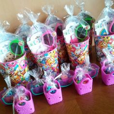 Shopkins Party Favors!! #shopkins #birthday #party #partyfavors #diy