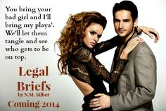 NEW RELEASE & GIVEAWAY – LEGAL BRIEFS BY N. M. SILBER  http://thesubclubbooks.com/?p=21979
