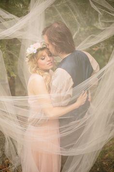 Fantasy Themed Wedding Ideas - Enchanted Fairytale Engagement Shoot