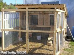 Chicken Coop - Chicken Coop / Hen Coop Building Idea Building a chicken coop does not have to be tricky nor does it have to set you back a ton of scratch.