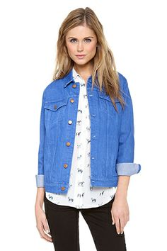Denim Daze: 14 Jean Jackets You'll Go Gaga Over  #refinery29