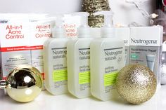 Today's gifts are from one of my favorite drugstore brands for both skincare and makeup - Neutrogena!