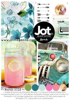 Tarrah McLean: Wild and Free | March 2016 Mood Board Challenge | Jot Magazine