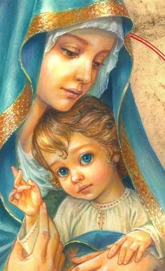 Zorina Baldescu Art added a new photo — with Abby Gonzalez. Christian Artwork, Christian Pictures, Religious Pictures, Jesus Pictures, Blessed Mother Mary, Blessed Virgin Mary, Catholic Art, Religious Art, Paddy Kelly