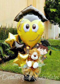"""""""Detalles globos y chocolates""""                                                                                                                                                     Más"""