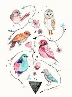BIRDS OF THE WILD - Meera Lee Patel