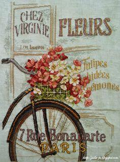 Dimension Parisien Bicycle http://julie-pr.blogspot.com/2013/11/dimensions-parisian-bicycle.html
