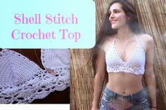 Shell Stitch Crochet Top