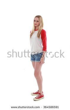 stock-photo-pretty-caucasian-girl-with-long-blonde-hair-wearing-casual-shirt-shorts-and-sneakers-standing-364586591.jpg (300×470)