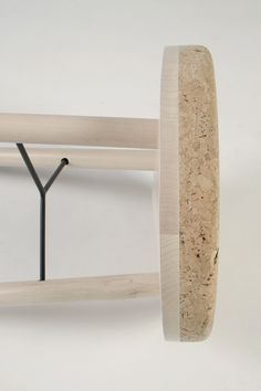 Some new projects from London-based designerMarcin Bahrij : nicely designedminimalist furniture usingcork and wood.