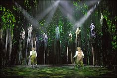 I have fond memories of the LOTR musical on stage in London..the ents were fabulous...