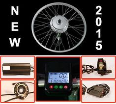 EBike Conversion Kit Electric Bicycle Cycle E-bike Front Wheel 48V 250W Motor - Go Shop Sports