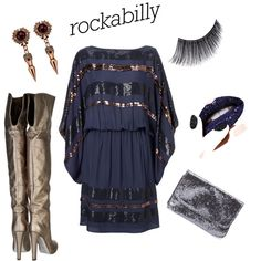 Rockabilly, created by chickycris on Polyvore