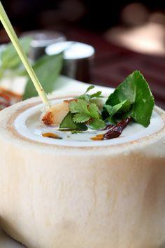 The organic recipes of Thai food at Basil Restaurant,Sheraton Grande Sukhumvit | #hotel #thai food #bangkok