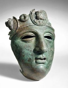 Ancient Roman Face mask part from a Cavalry Parade Helmet. Luxembourg, Soldier Helmet, Gladiator Helmet, Roman Helmet, Museum, Roman Art, Helmet Design, Ancient Romans, Archaeology