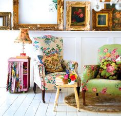 Sourcing vintage materials is fun, inspiring, cheap - and will give your home a new lease of life