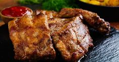 Pork Dishes, Pork Belly, Ribs, Cake Recipes, Food And Drink, Cooking Recipes, Meat, Yum Yum, Pizza