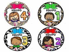 SGBlogosfera. María José Argüeso: POR EQUIPOS Cooperative Learning, Kids Learning, First Day Of School, Pre School, Grande Section, School Items, School Worksheets, Class Decoration, Classroom Language