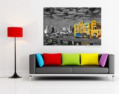 New York photography, Graffiti art canvas large Canvas art, NYC decor black and white photography, New York bedroom decor, bathroom decor by PHOTOFORWALL on Etsy Large Canvas Art, Canvas Wall Art, New York Bedroom, Nyc Decor, Music Wall Art, Paris Wall Art, New York Black And White, New York Photography, Black Decor
