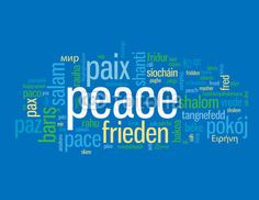 Tattoo idea: peace in different languages