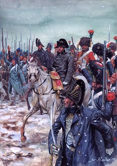 Napoleon during the 1814. Campaign of France