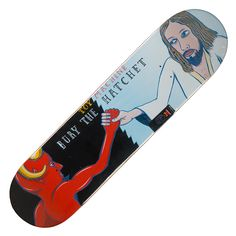 Toy Machine Skateboards Deck Bury The Hatchet 8.0″