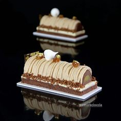 Discover recipes, home ideas, style inspiration and other ideas to try. Mont Blanc Dessert, Mont Blanc Cake, Sweet Recipes, Cake Recipes, Chamonix Mont Blanc, Log Cake, Christmas Desserts, Yummy Cakes, No Bake Cake