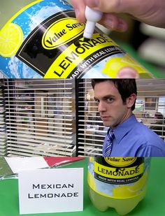 DIY mexican lemonade