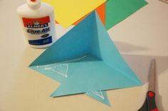 Pyramid Diorama (Triarama) Templates & Directions