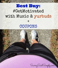 Best Buy: #GetMotivated with yurbuds + coupons #sponsored