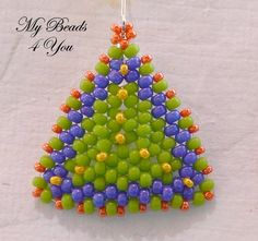 Beadwoven Tutorial Beaded Earring Tutorial Seed by mybeads4you