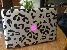 cheetah pink macbook pro
