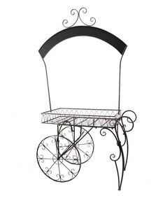 Look at this Chalkboard Rolling Metal Display Cart on #zulily today!