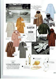 #Dagmar #AW15 coat spotted in #ELLE magazine