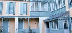 Balcon et lambrequin - Menuiserie TREY en Hautes Pyrénées
