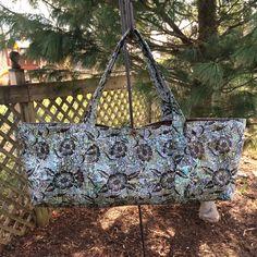Yoga Mat Tote Bag by StitchesByLindaLLC on Etsy