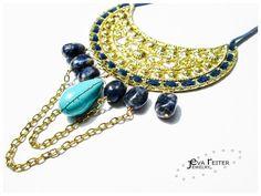 Eva Reiter Jewelry — Amo el turquesa y el azul! #art #accessories...