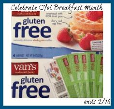 Van's Foods Product FREE Coupon GIVEAWAY February is National Hot Breakfast Month! And what better way to celebrate that with Van's Foods. They not only ma