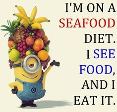 I Love The Seafood Diet!