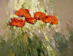 """Poppies in the Grass"" - by Alexi Zaitsev"