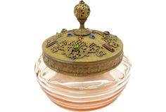 Jeweled Vanity Jar on OneKingsLane.com